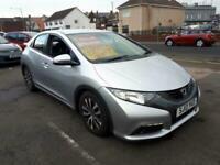 2013 Honda Civic 1.6 i-DTEC Diesel ES 5-Door From £5,495 + Retail Package HATCHB