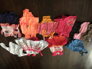 Girl clothing lot size 12-18 months