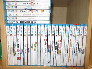 Wide Selection of WiiU games