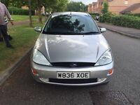 Ford Focus 1.8 low millage 84K 1 year MOT new tyres drives excellent