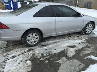 2002 Honda Civic Coupe Etested for 1700!