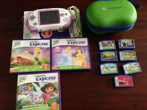 Leapster Explorer and Game & Leapster 2 games
