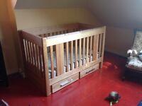 College Woodwork Convertible Crib