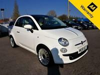2008 FIAT 500 1.4 LOUNGE 99 BHP! P/X WELCOME!1 OWNER!67K MILES! FULL SRVC HIST!