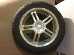 4 winter tires on Chrysler rims