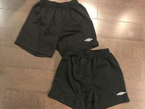 Kids/youth soccer shorts ~ sizes youth large & youth xl