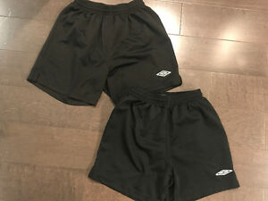 Kids/youth soccer shorts ~ size youth medium & youth large