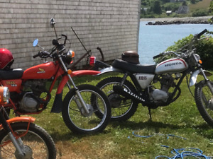 Vintage Honda Street and Trail Bikes for sale