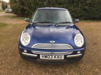 2003 Mini Mini 1.6 One NEXT MOT 24/08/2017