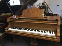 Baby Grand Piano | Medium Mahogany | Tuned and in great order | Free Delivery!
