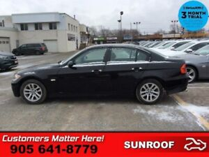 2008 BMW 3 Series 323i  LEATHER SUNROOF HTD-SEATS