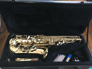 Alto Sax with case and all accessories