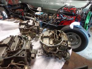 quadrajet chevy carburators  17057213  17058229  7045213