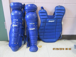Baseball Shin Guards &  Baseball Chest Protectors