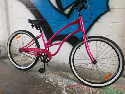 Brand NEW Del Sol Cantina Beach Cruiser Hot Pink SALE!