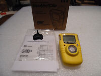 Gas Alert Clip Extreme Single Gas Detector O2 New in Box  BW Tec