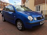 Volkswagen Polo 1.2 TWIST 65PS (blue) 2004