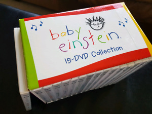 Entire Baby Einstein DVD Collection  (16 discs total)