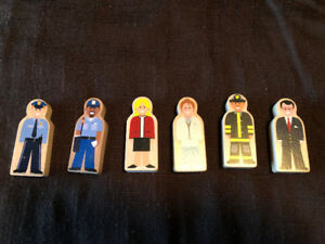 Wooden people/figures for sale
