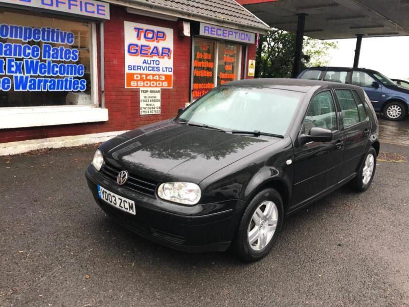 Volkswagen Golf 1.9TDI PD ( 130bhp ) 2003MY GT