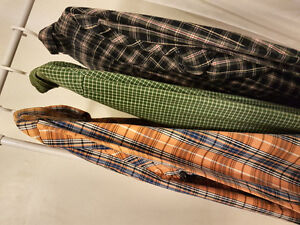 Men's Excellent Quality Button-Down Shirts (med)