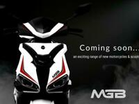 2021 MGB FANTASY 125cc Automatic Learner Legal Scooter for under £2000