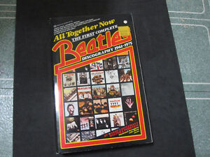 """The Beatles """"All Together Now"""" Book-Complete Discography-MINT"""