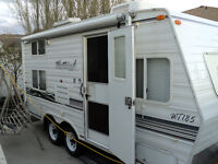Camping trailer for sale