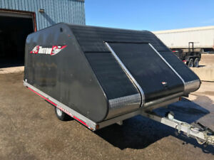 2012 and 2013 ski-doos 600 GSX HO-E-TEC plus enclosed trailer
