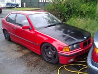 E36 316 compact drift breaking will sell whole