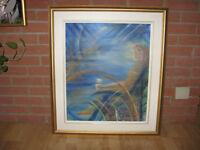Magnifique toile à vendre «Contempler»