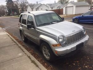 2006 Jeep Liberty Limited 4x4, Command Start