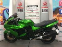 KAWASAKI ZZR1400 STUUNING BIKE DELIVERY ARRANGED P/X WELCOME HPI CLEAR
