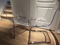 IKEA TOBIAS dining chairs (set of two)