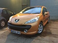 Peugeot 207 1.4 sport ( 1 Years MOT) excellent condition £1295