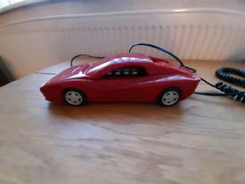 Ferrari car phone 1980s retro