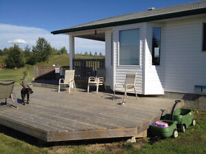 1200 sq. ft home on 3 acres 20 minutes north of Lloyd in AB