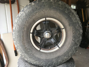 For Sale  Set of 4 Wheels and Tires