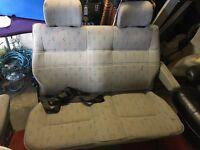 VW T4 Double Rear Seat with 1 lap belt, ex aa van seat