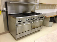 Commercial Gas Stove for sale - US Range
