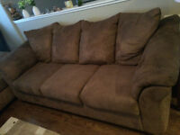 Couch & love seat. Reduced to $650