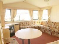Family static caravan available on the north east coast near Newcastle + Durham