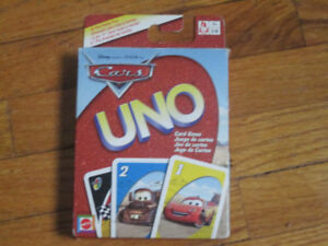UNO Disney Cars Card Game