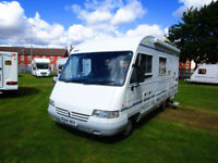 Pilote Galaxy 27S three berth A class motorhome with separate shower