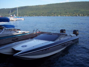 Looking for a single or twin outboard Tunnel or Cat