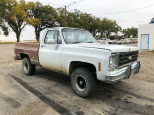 1978 Chevy K10 Short box