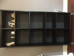 4 teir adjustable bookshelf/display shelf!