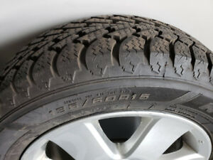 WINTER TIRES AND RIMS  195 60 15 - $500 (Whitby)