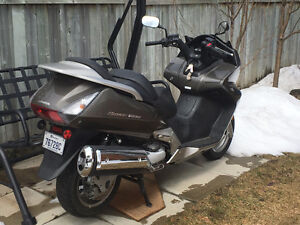 Scooter Honda 600 Silver Wings