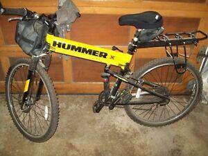 Hummer Folding Mountain Bike